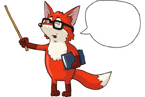 Fox teacher