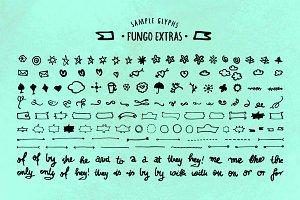 FUNGO EXTRAS (150 Glyphs)