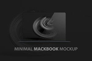 2019 Minimal Mackbook Mockup