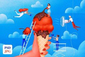 Ice Сream illustration