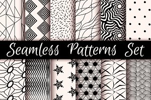 12 Incredible Seamless Patterns V.01
