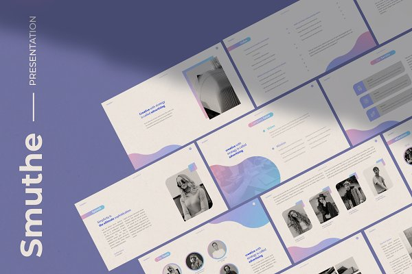 Presentation Templates: Visuel Colonie® - Smuthe Keynote