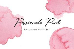 Passionate Pink: Clip Art