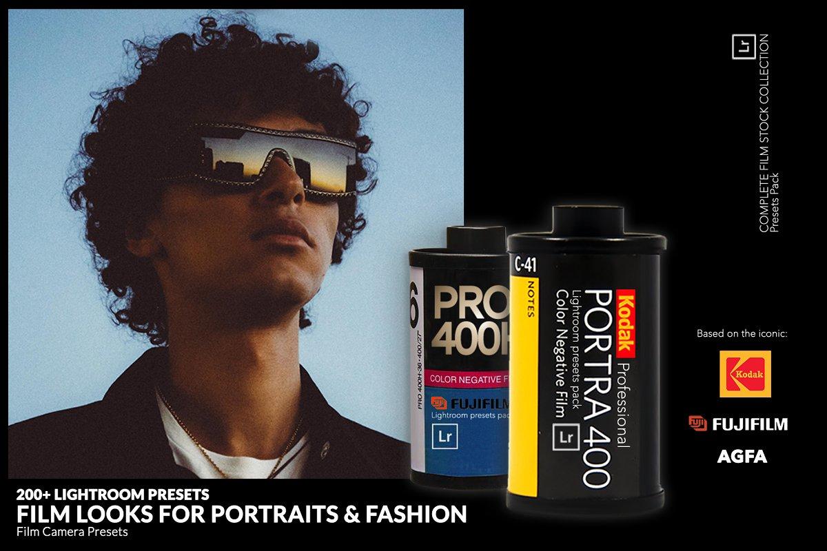 200+ Lightroom Film Look Presets  ~ Lightroom Presets ~ Creative Market