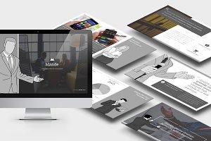 Mande: Business Vector Google Slides