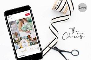 Canva Pinterest Template - Wedding