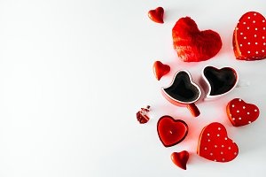 Valentine's Day Heart Shaped Objects