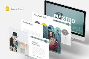 Maxtro - Google Slide Template