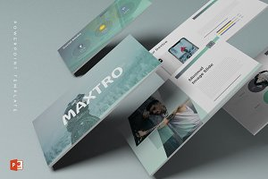 Maxtro - Powerpoint Template
