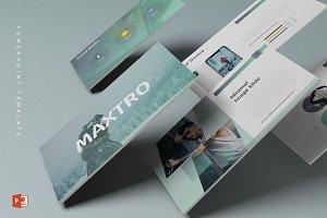 Maxtro - Powerpoint Template