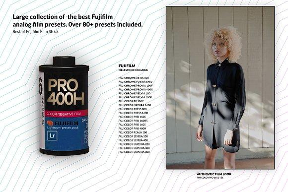 80+ Portrait Film Lightroom Presets
