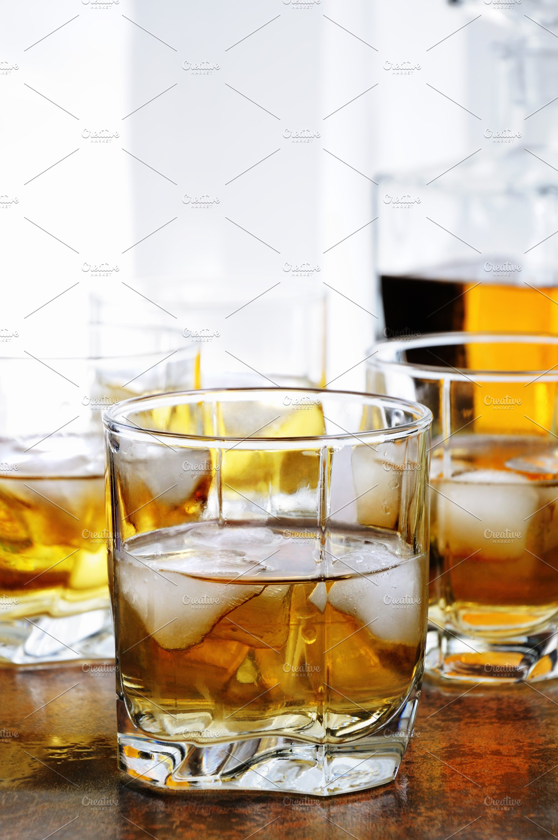 Whiskey With Ginger Ale And Lime High Quality Food Images