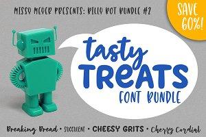 BilllyBot Font Bundle 2-Tasty Treats