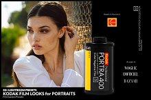 50+ Kodak Film Lightroom Presets.