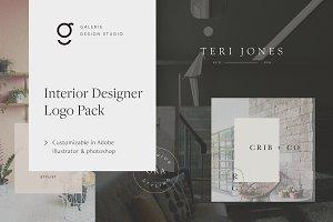Interior Design Logo Pack