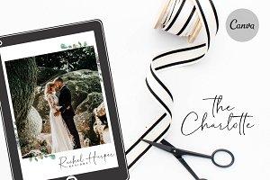 Canva Wedding Magazine Template