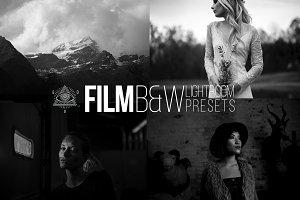 Film B&W Lightroom CC Presets