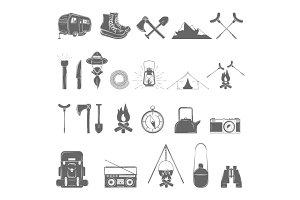 Outdoor Recreation Element Set.