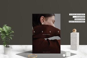 Minimal Fashion Catalog - LILY