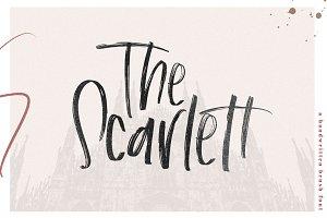 The Scarlett -Handwritten Brush Font