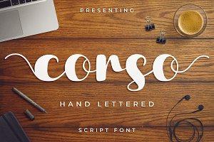Corso Script Font