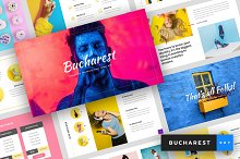 Bucharest - Keynote Template by  in Presentations