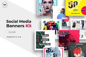 Social Media Kit Volume I