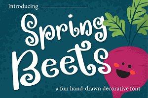 Spring Beets Font