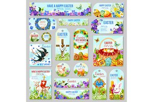 Easter, religion holiday design