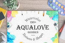 Aqualove - Watercolor Goodies