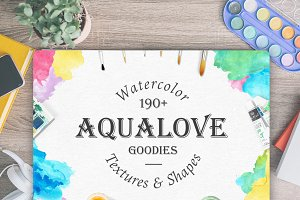 Aqualove - Watercolor Goodies
