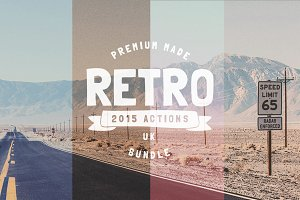 The Retro Pro Actions Bundle