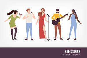 Singers set