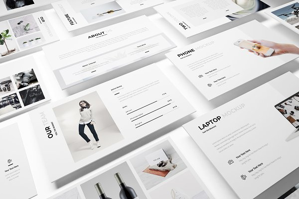 Presentation Templates: Incools Stokie - Photography Google Slides Template