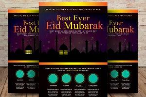 Eid Ul Fitr Flyer Psd