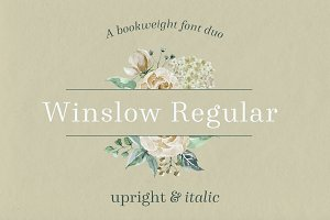 Winslow Book Regular - 50% OFF SALE
