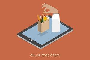 Online Foood Ordering Concept