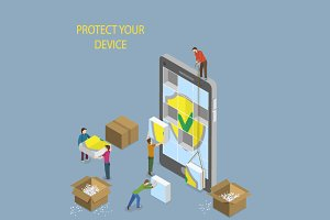 Mobile Device Protection Concept