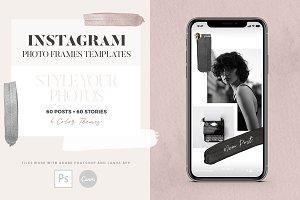 Instagram Photo Frames Templates