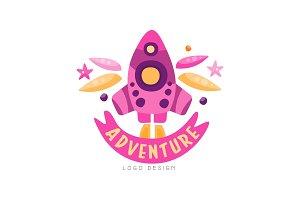 Adventure logo design, summer
