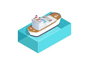 Isometric ship cargo