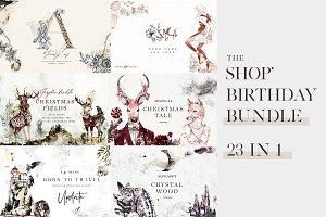 The Shop' Birthday Bundle