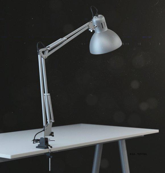 IKEA  TERTIAL Work Lamp - 3D Model