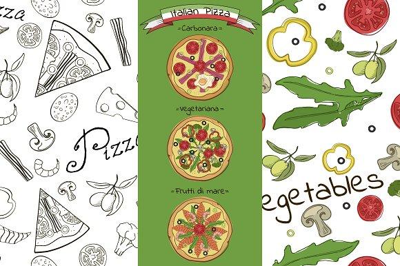 Italian Pizza (vector collection)