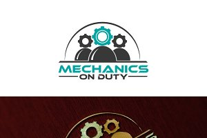 Mechanics Logo Template