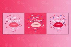Modern Valentine's Day Banners