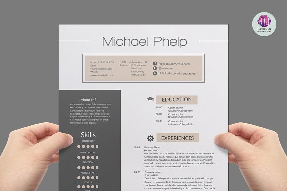 professional resume template resumes