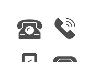 Set icons of phone