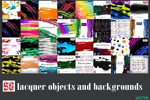 58 Lacquer paint set Vol.1