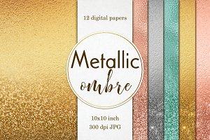 Metallic textures: Foil & Glitter